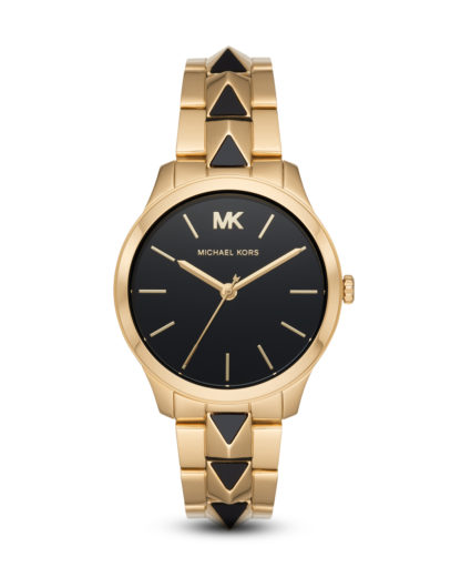 Quarzuhr Runway Mercer MK6669 MICHAEL KORS Gold 4013496508086