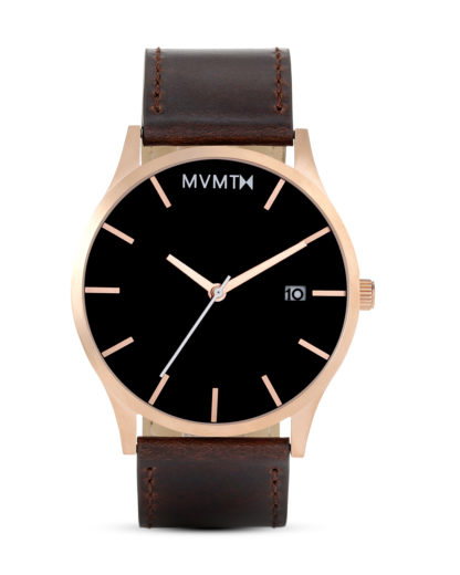 Quarzuhr Rose Gold / Brown Leather MM01-RGBL MVMT braun,roségold 853528005251