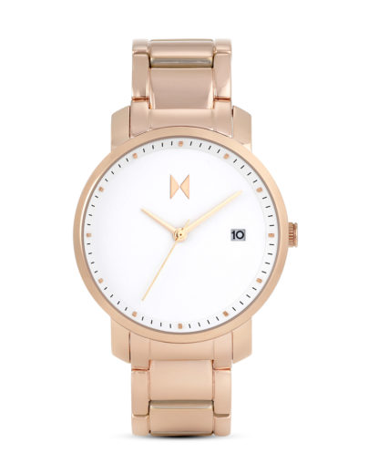 Quarzuhr Signature Rose Gold / White MF01-RG MVMT roségold,weiß 853528005084