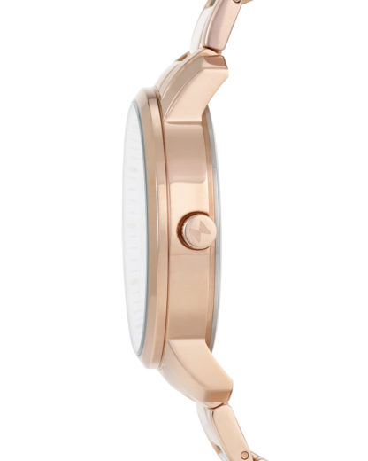 Quarzuhr Signature Rose Gold / White MF01-RG MVMT Damen Edelstahl 853528005084