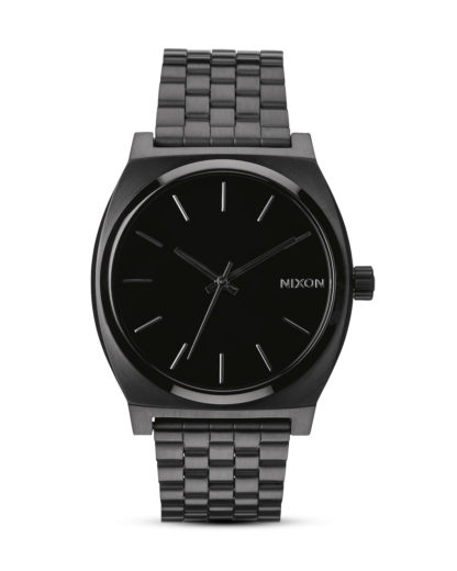 Quarzuhr Time Teller A045 001-00 All Black NIXON schwarz 3007001591398