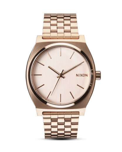 Quarzuhr Time Teller A045 897-00 All Rose Gold NIXON roségold 3608700055015