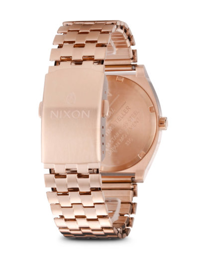 Quarzuhr Time Teller A045 897-00 All Rose Gold NIXON Damen Edelstahl 3608700055015