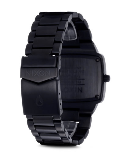 Quarzuhr Player A140 001-00 All Black NIXON Herren Edelstahl 3007000684770