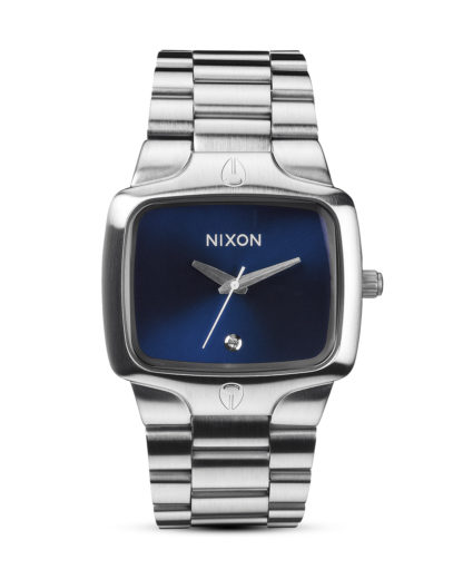 Quarzuhr Player A140 1258-00 Blue Sunray NIXON blau,silber 3608700037790