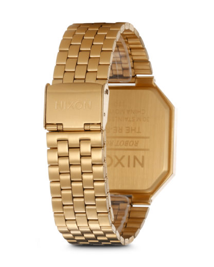 Digitaluhr Re-Run A158 502-00 All Gold NIXON Damen Edelstahl 3007001768950