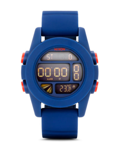 Digitaluhr Unit A197 307-00 Navy NIXON blau 3007001832101