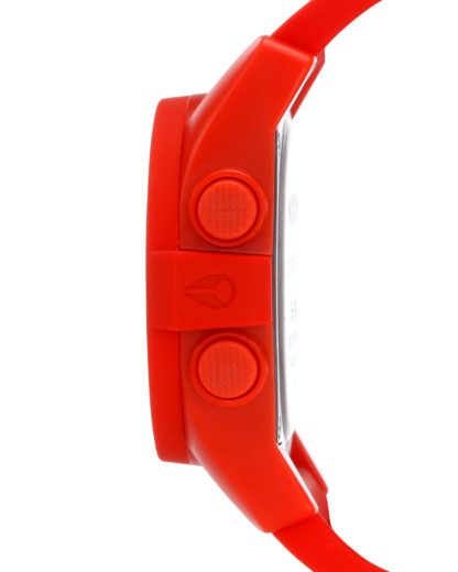 Digitaluhr Unit A197 383-00 Red Pepper NIXON Damen,Herren Silikon 3608700105710