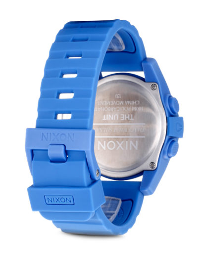 Digitaluhr Unit A197 1405-00 Marina Blue NIXON Damen,Herren Silikon 3608700002194