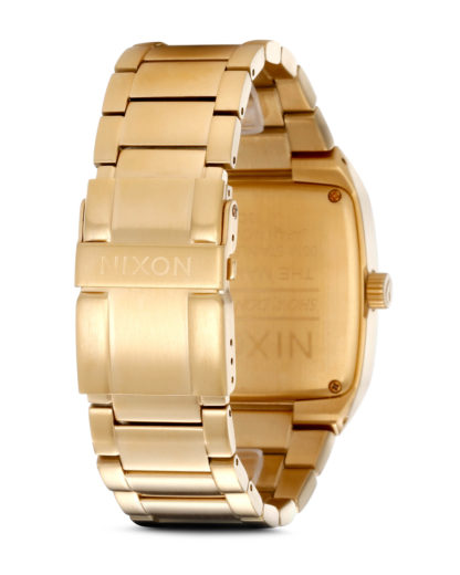 Quarzuhr Manual II A244 502-00 All Gold NIXON Herren Holz 3007001892235