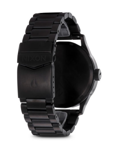 Quarzuhr Sentry SS A356 001-00 All Black NIXON Herren Edelstahl 3608700003092