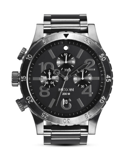 Chronograph 48-20 A486 632-00 All Gunmetal NIXON grau 3608700059624