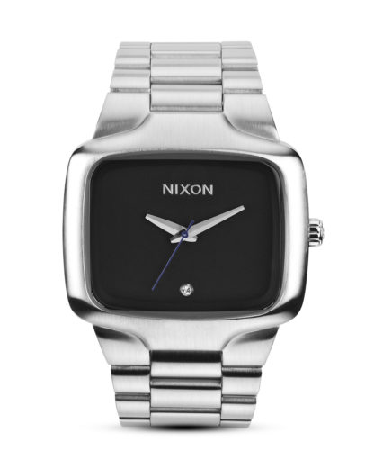 Quarzuhr Big Player A487 000-00 Black NIXON schwarz,silber 3608700059662