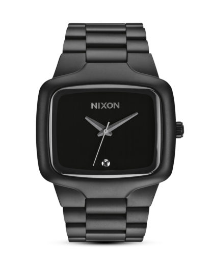 Quarzuhr Big Player A487 524-00 Matte Black NIXON schwarz 3608700059686