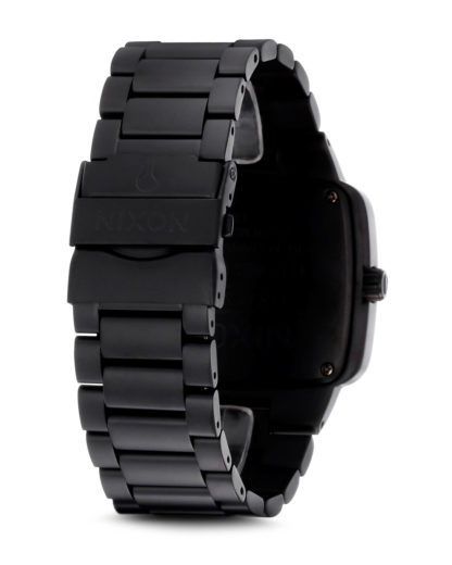 Quarzuhr Big Player A487 524-00 Matte Black NIXON Damen,Herren Edelstahl 3608700059686