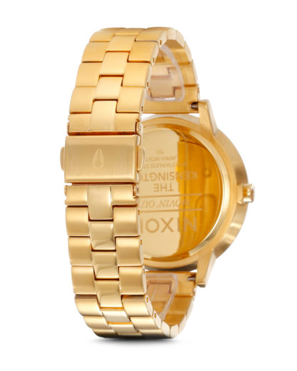 Quarzuhr Kensington A099 502-00 All Gold NIXON Damen Edelstahl 3007001728046