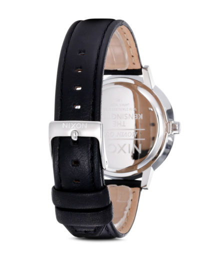 Quarzuhr Kensington Leather A108 000-00 Black NIXON Damen Leder 3007001597222