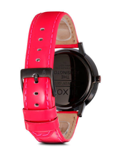 Quarzuhr Kensington Leather A356 510-00 Bright Pink Patent NIXON Damen Leder 3608700083926
