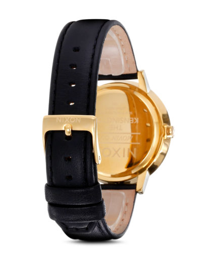 Quarzuhr Kensington Leather A108 501-00 Gold NIXON Damen Leder 3007001597550