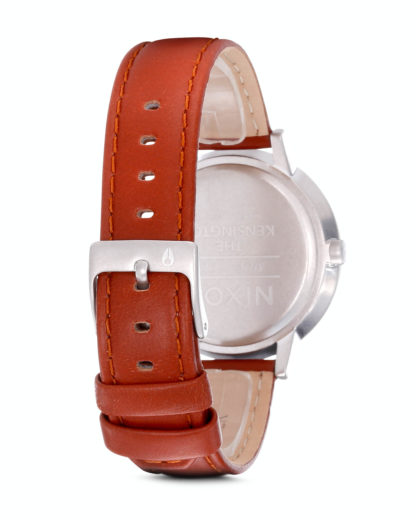 Quarzuhr Kensington Leather A108 747-00 Saddle NIXON Damen,Herren Leder 3007001831746