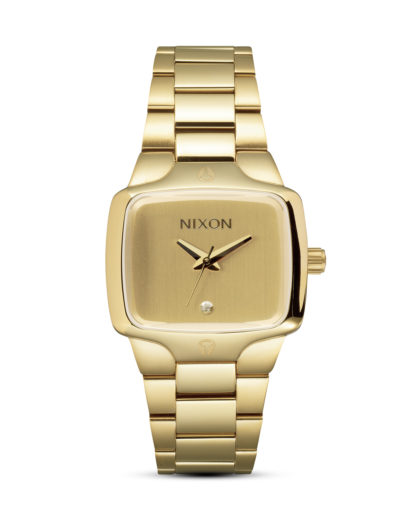 Quarzuhr Small Player A300 511-00 All Gold / Gold NIXON gold 3007001728787
