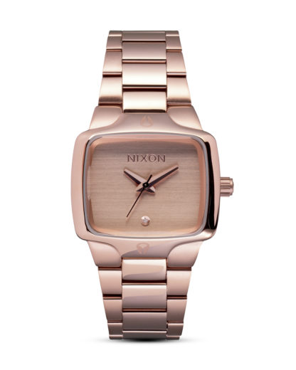Quarzuhr Small Player A300 897-00 All Rose Gold NIXON roségold 3007001966592
