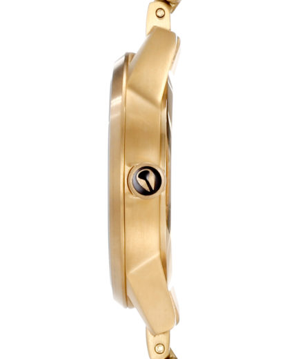 Quarzuhr Small Kensington A361 502-00 All Gold NIXON Damen Edelstahl 3608700025247