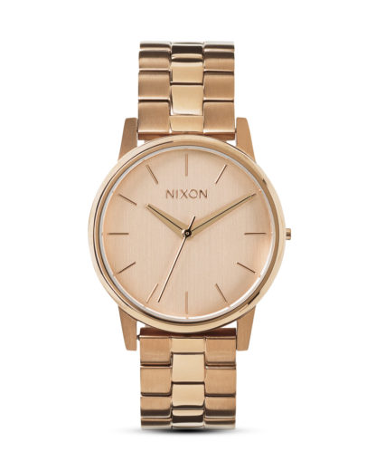 Quarzuhr Small Kensington A361 897-00 All Rose Gold NIXON roségold 3608700084473