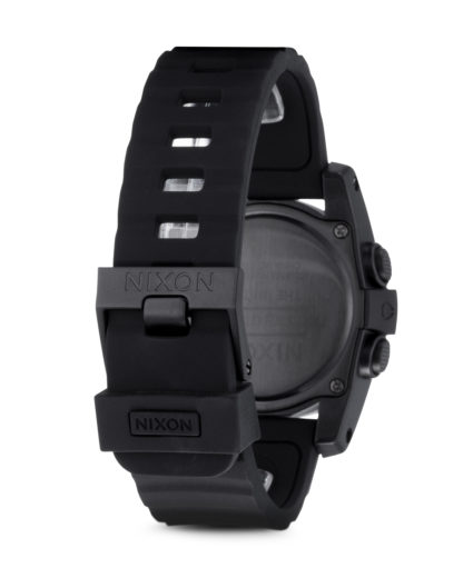 Digitaluhr Unit 40 A490 001-00 All Black NIXON Damen,Herren Silikon 3608700059747