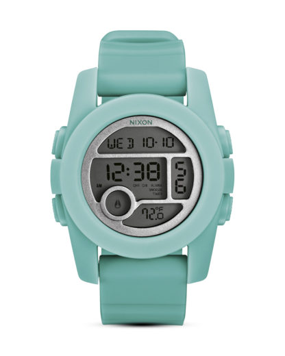 Digitaluhr Unit 40 A490 302-00 Light Blue NIXON türkis 3608700059754