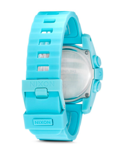 Digitaluhr Unit 40 A490 302-00 Light Blue NIXON Damen,Herren Silikon 3608700059754