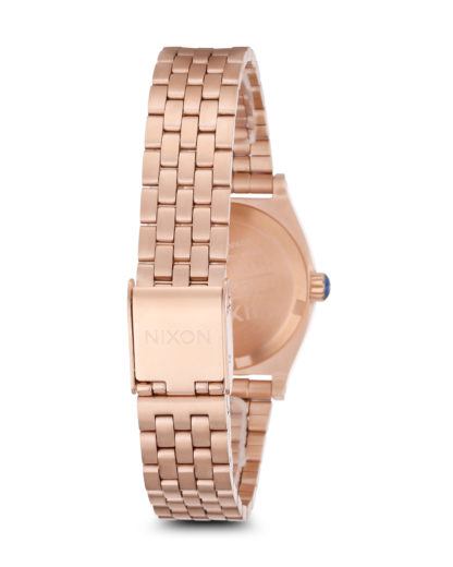 Quarzuhr Small Time Teller A399-1748-00 Rose Gold / Cobalt NIXON Damen Edelstahl 3608700070100