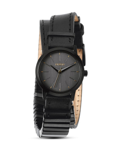 Quarzuhr Kenzi Wrap A403-1616-00 All Black / Mixed NIXON schwarz 3608700070179