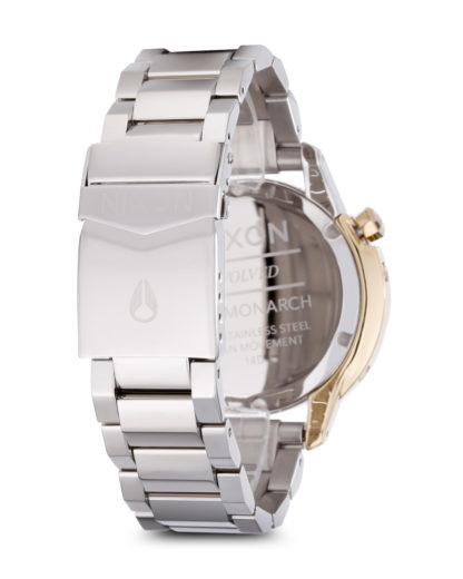 Quarzuhr Monarch A288-1431-00 Silver / Light Gold NIXON Damen Edelstahl 3608700068305