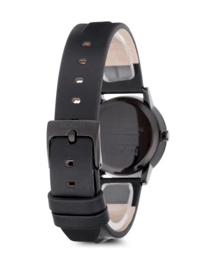 Quarzuhr Kenzi Leather A398-1669-00 All Black / Studded NIXON Damen Leder 3608700069968