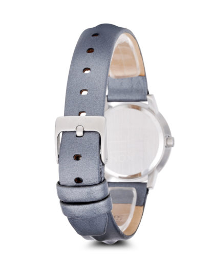 Quarzuhr Kenzi Leather A398-1619-00 All Silver / Studded NIXON Damen Leder 3608700069951