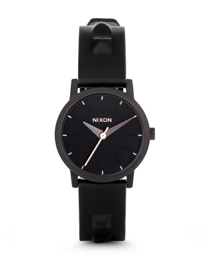 Quarzuhr Kenzi Leather A398-1669-00 NIXON schwarz 882902480742