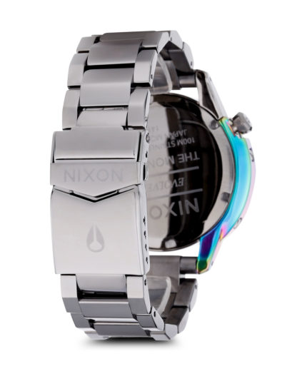 Quarzuhr Monarch A288-1698-00 Gunmetal / Multi NIXON Damen Edelstahl 3608700068329