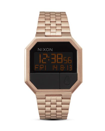 Digitaluhr Re-Run A158 897-00 All Rose Gold NIXON gold,schwarz 3608700189413