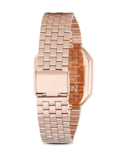 Digitaluhr Re-Run A158 897-00 All Rose Gold NIXON Herren Edelstahl vergoldet 3608700189413