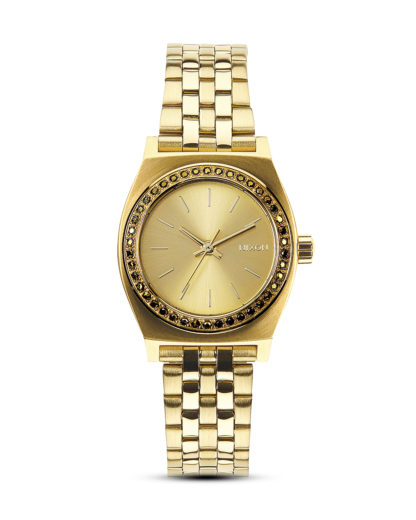 Quarzuhr Small Time Teller A399 1520-00 All Gold Crystal NIXON gold 3608700175812