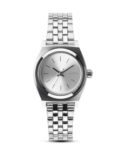 Quarzuhr Small Time Teller  A399 1920-00 All Silver NIXON silber 3608700138046