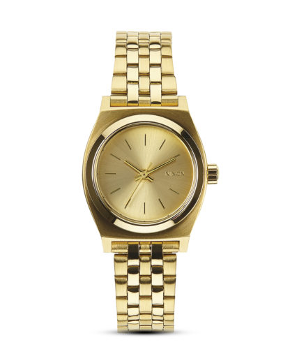Quarzuhr Small Time Teller A399 502-00 All Gold NIXON gold 3608700138053