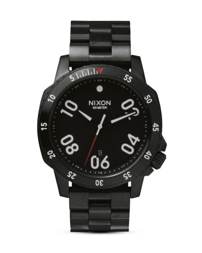 Quarzuhr Ranger A506 001 All Black NIXON schwarz 3608700592503