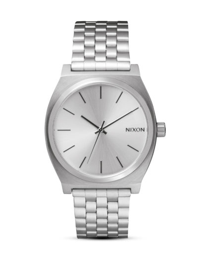 Quarzuhr Time Teller A045 1920 All Silver NIXON silber 3608700591339
