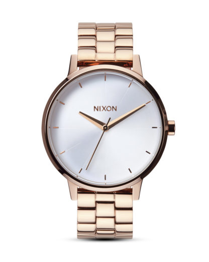 Quarzuhr Kensington A099 1045 Rose Gold / White NIXON roségold 3608700591834