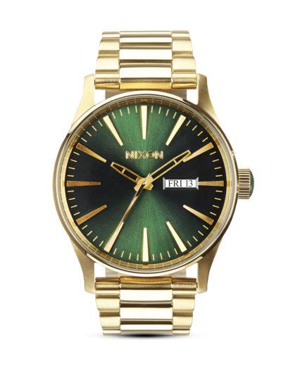 Quarzuhr Sentry SS A356 1919-00 Gold / Green Sunray NIXON gold,grün 3608700138015