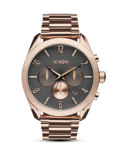 Chronograph Bullet A366 2046-00 All Rose Gold / Gunmetal NIXON grau,roségold 3608700612799
