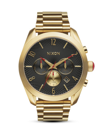 Chronograph Bullet A366 510-00 All Gold / Black NIXON gold,schwarz 3608700612805
