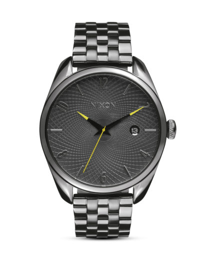Quarzuhr Bullet A418 2090-00 All Gunmetal / Gray NIXON grau 3608700613697